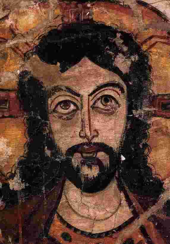 Christus - 7. Jh., Koptisches Museum, Alt-Kairo. <b>Jakob Böhme</b> - psalmen